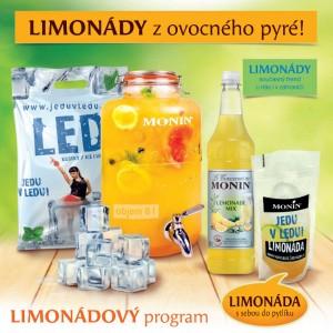 Limonádový startovací set Monin a Jedu v ledu!
